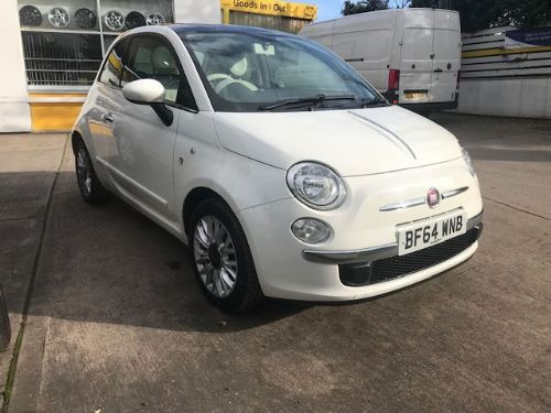 ***SOLD***Fiat 500 Lounge 1.2 Petrol 2014***SOLD***